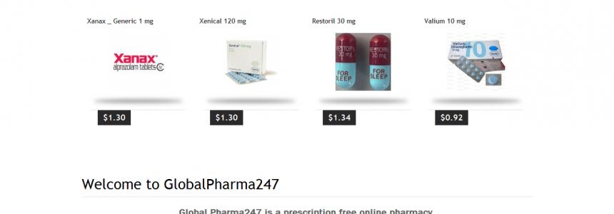 [Global Pharma] – OpenCart