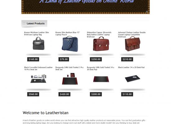 [Leatheristan] – OpenCart